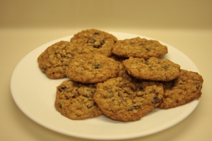 Gooey Oatmeal Cookies