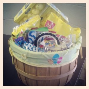 Our post-Easter candy stash